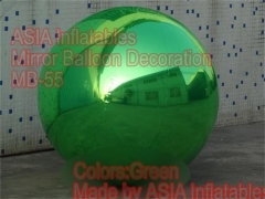 Green Mirror Ball
