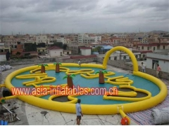 Inflatable Crazy Golf Course Sports Games