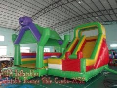 4 In 1 Bounce House Slide Combo