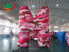 Giant inflatable letters H