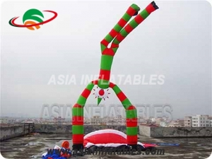 double legs  inflatable air dancer man