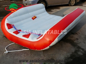 2 Person Water Sports Floating Platform Inflatable FlyingTube Towable on Sales