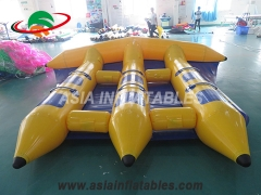 Reinforced Strips Inflatable Flying Fish Boat