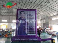 Inflatable Billboard With Banner Printing