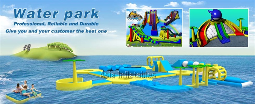 New Design Inflatable Water Parks